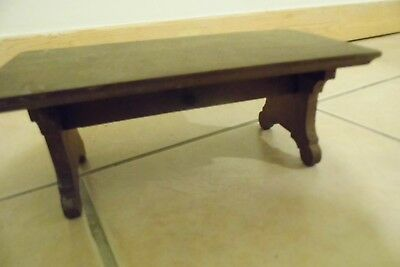 RARE altar stand mystery miniature Table folding antique CHINESE ?