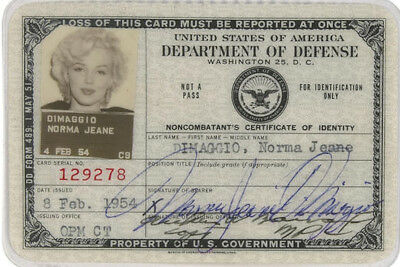 MARILYN MONROE (3) 4x6 Glossy Photos 1954 DOD ID and Korea Performance Photo