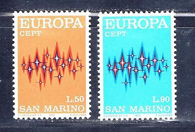San Marino 771-772 unused hinged - 1972 Europa