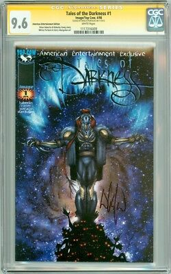 Tales of Darkness #1 SS CGC 9.6 Signed Whilce Portacio American Entertainment Ed