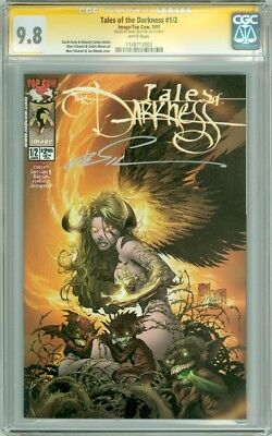 Tales of Darkness #1/2 SS CGC 9.8 Signed by Marc Silvestri