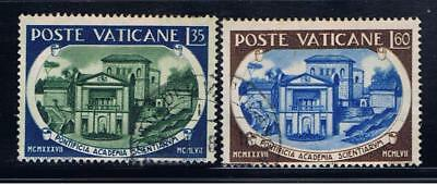 Vatican City 227-8 used VF