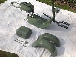 Lambretta model C  Restoration  Project