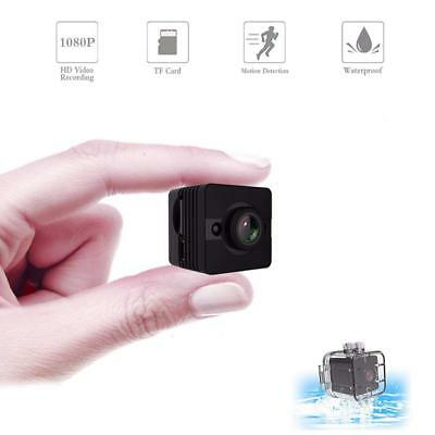 1080P HD Small Mini Camera Waterproof Covert Spy Hidden Camera Sport Outdoor Cam