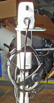 Welch Allyn Solarc MFI Surgical Headlight and stand