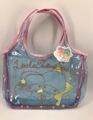 Little Twin Stars Clear Tote