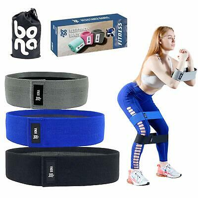 Newest 2019 Hip Booty Bands - Premium Woven Fabric Hip, Thigh Glute Workouts -
