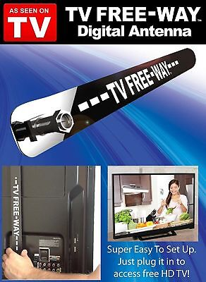 Free-Way Clear HD Television Portable Digital Antenna Broadcast As Seen On TV™