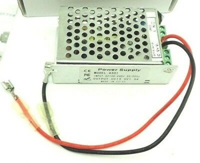 Power Supply 4301 In: 100-245VAC 50/60Hz, Out: 13.5VDC at 1.5A