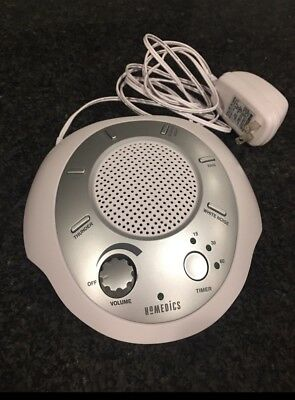 HoMedics Sound Spa Relax Machine, White Noise Nature Peace Therapy Sleep Night