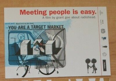 Radiohead: Meeting People Is Easy Promotional Postcard - MINT RARE