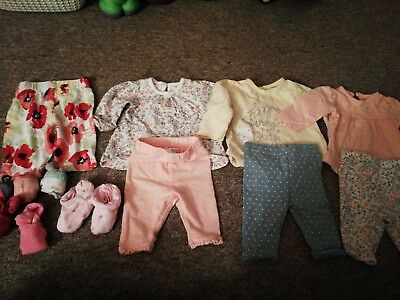 First Size Baby Girl clothes Bundle Up To 9lbs