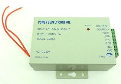 AGPtek AD813 Power Supply Control, In: 110-245VAC 50/60Hz, Out: 12VDC 3A HS0015