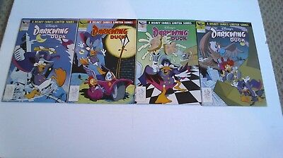 Darkwing Duck (1991) #1-4, 1 2 3 4 Complete Series Walt Disney   /1487/