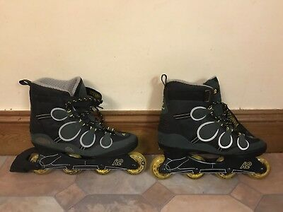 K2 Impulse Inline skates. Men's. Excellent Condition. I'm Too old For This ;)