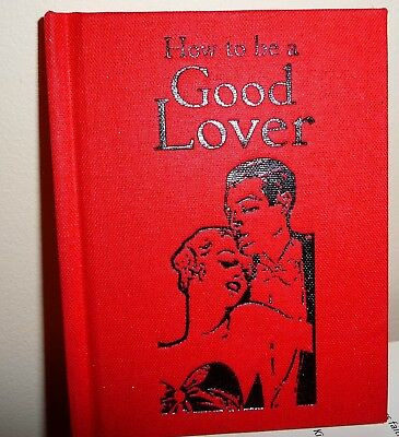 How to be a Good Lover booklet by Bodieian bookshop