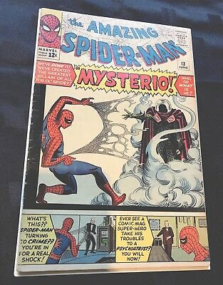 Amazing Spider-Man # 13.First Ever Mysterio. Nice Condition. Super Hot.New Film.