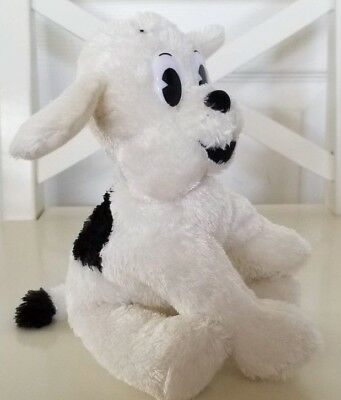 Betty Boop Pudgy the Puppy/Dog Stuffed Animal White Collectable