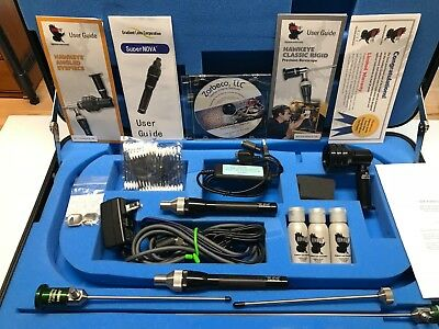 Hawkeye Borescope Gunsmith Kit, Portable Video Camera, Angled Eye Piece, Case
