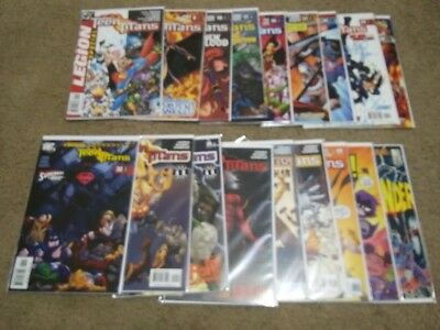 Teen Titans Comics Lot