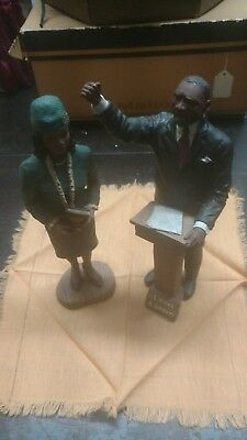 The Dr. MARTIN LUTHER KING & wife,   Collection by Sarah's Attic