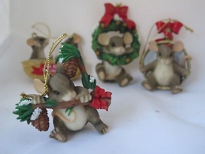 Charming Tails Christmas Ornaments