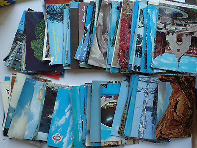 Huge Lot of VIntage Photo Post Cards New and Used OLD STAMPS 1 Cent Up -4CHARITY