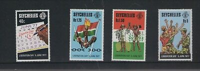 Seychelles Liberation Day 1978 Set Of Mint  Stamps Free P&p