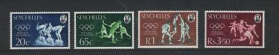 Seychelles Olympic Games Montreal 1976 Set Of Mint  Stamps Free P&p