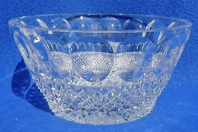 Vtg/Antique ABP American Brilliant Period Cut Glass Candy Dish Bowl #4087