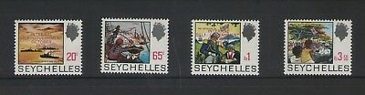 Seychelles Internal Self Government 1975 Set Of Mint  Stamps Free P&p