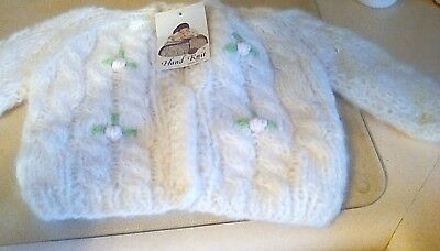 Vintage Baby Girls Hand Knit Sweater Kids Size 2 Italy