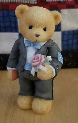 NEW Cherished Teddies - 476366 - The Time Has Come For Wedding Bliss - Groomsman
