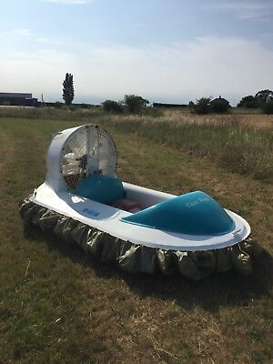 Very Rare Project - Superb Classic Wings Single Occupancy Hovercraft.