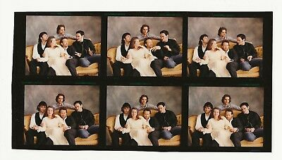 *P706 VINTAGE CONTACT SHEET PHOTO Quentin Terantino Robert Rodriguez FOUR ROOMS
