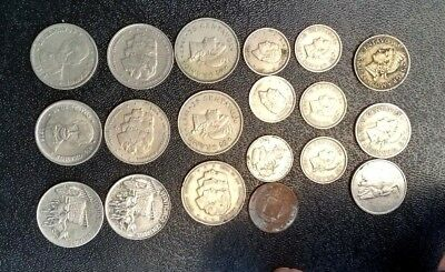 Dominican Republic Lot of 19 circulated coins