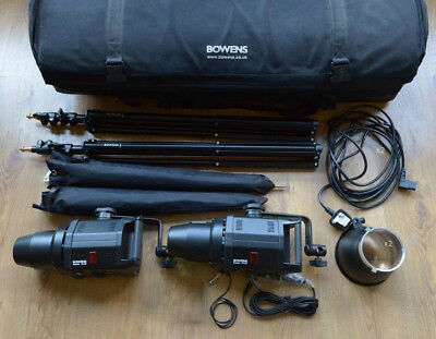 Bowens Gemini GM400 set with accessories