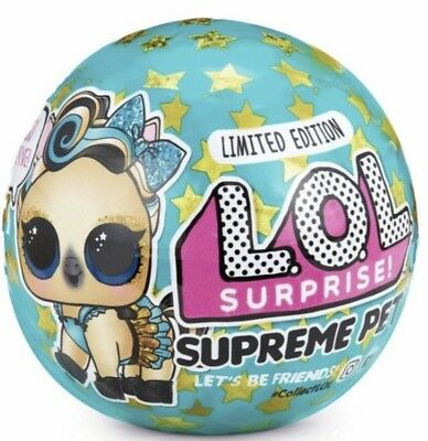1 LOL Surprise Limited Edition Supreme Pet Series Lucky LUXE Pony *IN HAND*