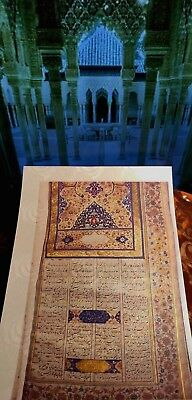 SAFAVID SHAHNAMEH ISLAM -   Manuscript Accented in GOLD . New