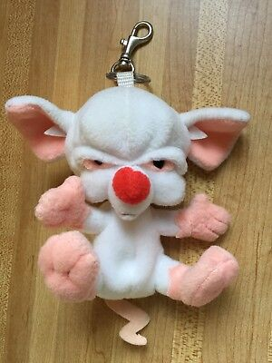 Animaniacs THE BRAIN Backpack Clip On Warner Bros NEW w/o tags