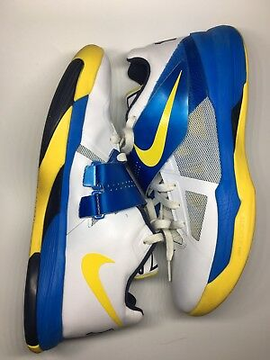 super popular 9946f d7aea Nike Zoom KD 4 Entourage 473679-102 size 10.5 scoring title what the X EYBL