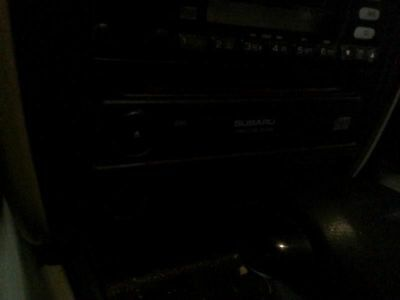 Audio Equipment Radio CD Player Single 1 Din In Dash Fits 00-03 LEGACY 144544