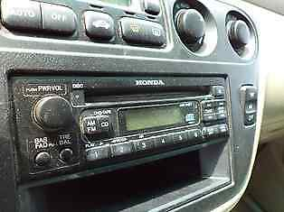 Audio Equipment Lx Cd Player Fits 99-04 Odyssey 106901
