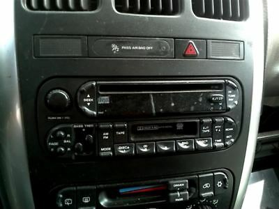 Audio Equipment Radio Receiver Radio Am-fm-cassette Fits 05-07 CARAVAN 145320
