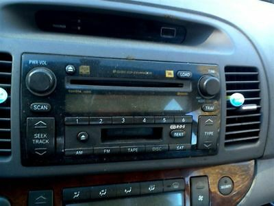 Audio Equipment Radio Receiver With CD Jbl Manufacturer Fits 05-06 CAMRY 142786