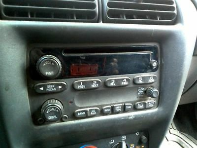 Audio Equipment Am-Fm-Stereo-Cd Player Opt Un0 Fits 02-05 Impala 141081