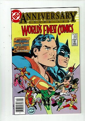 World's Finest #300, VF 8.0, Batman, Superman, Justice League
