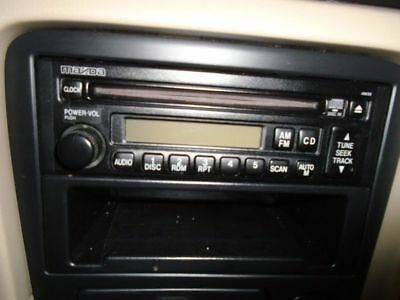Equipment Without Bose Audio System Fits 98-00 Mazda 626 126266