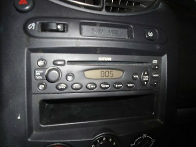 Audio Equipment Am-Fm-Cd Player Opt U1C Fits 04-05 Saturn L Series 117606