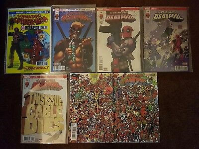 Despicable Deadpool 287 3d lenticular Punisher new 288 289 290, 300 Variant new